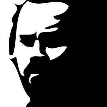 Autoportrait en noir et blanc de Jérémy Bouquin