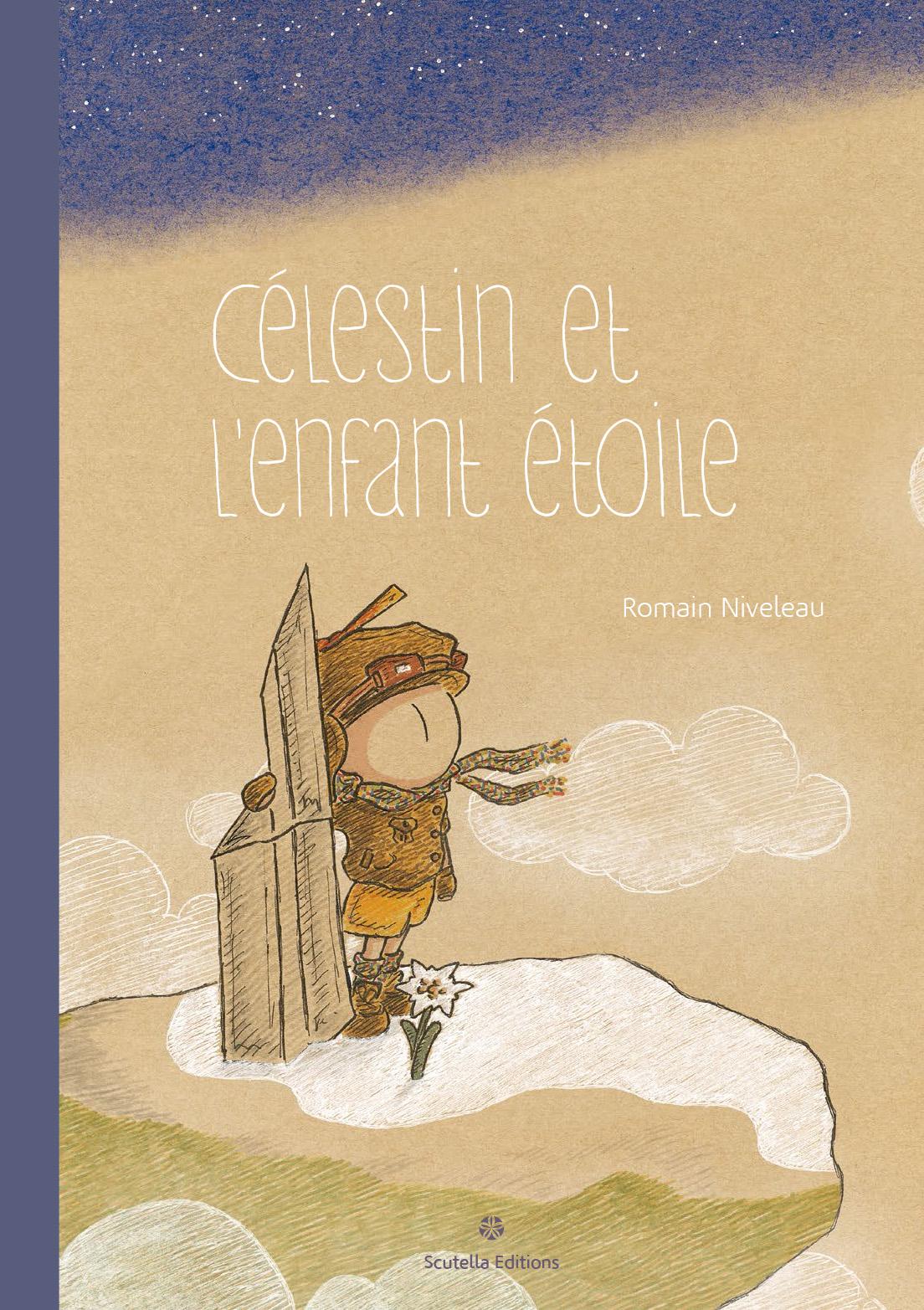 Couverture de la bande-dessinée Celestin et l'enfant étoile par Romain Niveleau