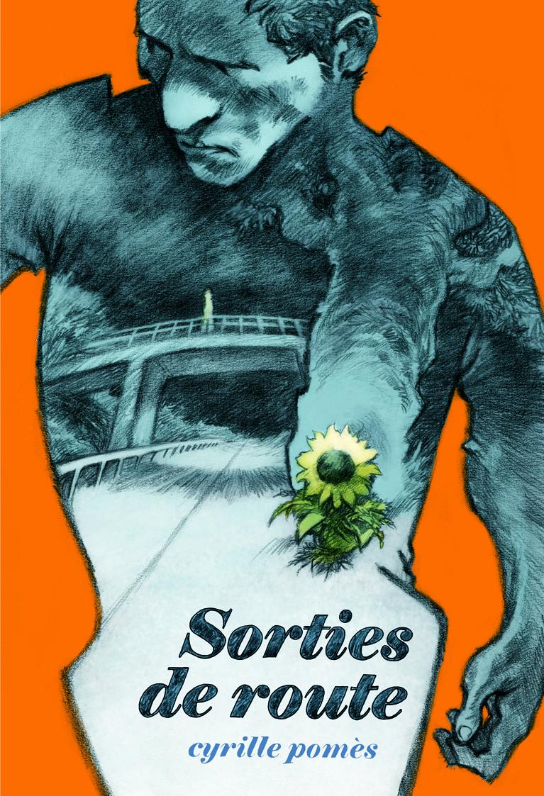 Couverture de la bande-dessinée Sorties de route par Cyrille Pomès