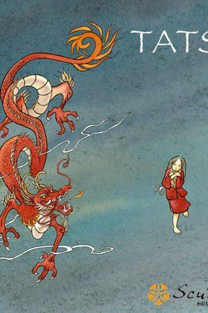 Couverture du roman japonais Tatsu par Eric Wantiez et Mazan