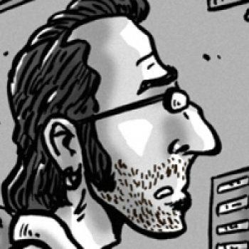 Portrait en dessin de Monsieur K.
