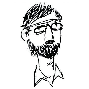 Portrait dessiné d'Eric Wantiez