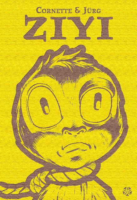 Couverture du roman Ziyi par Jean-Luc Cornette et Jurg