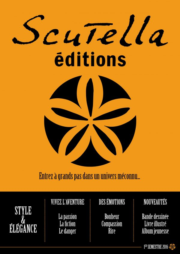 Couverture du catalogue 2016 pour Scrutella