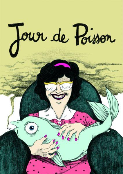 Couverture de la bande-dessinée Jour de Poisson par Amandine Ciosi