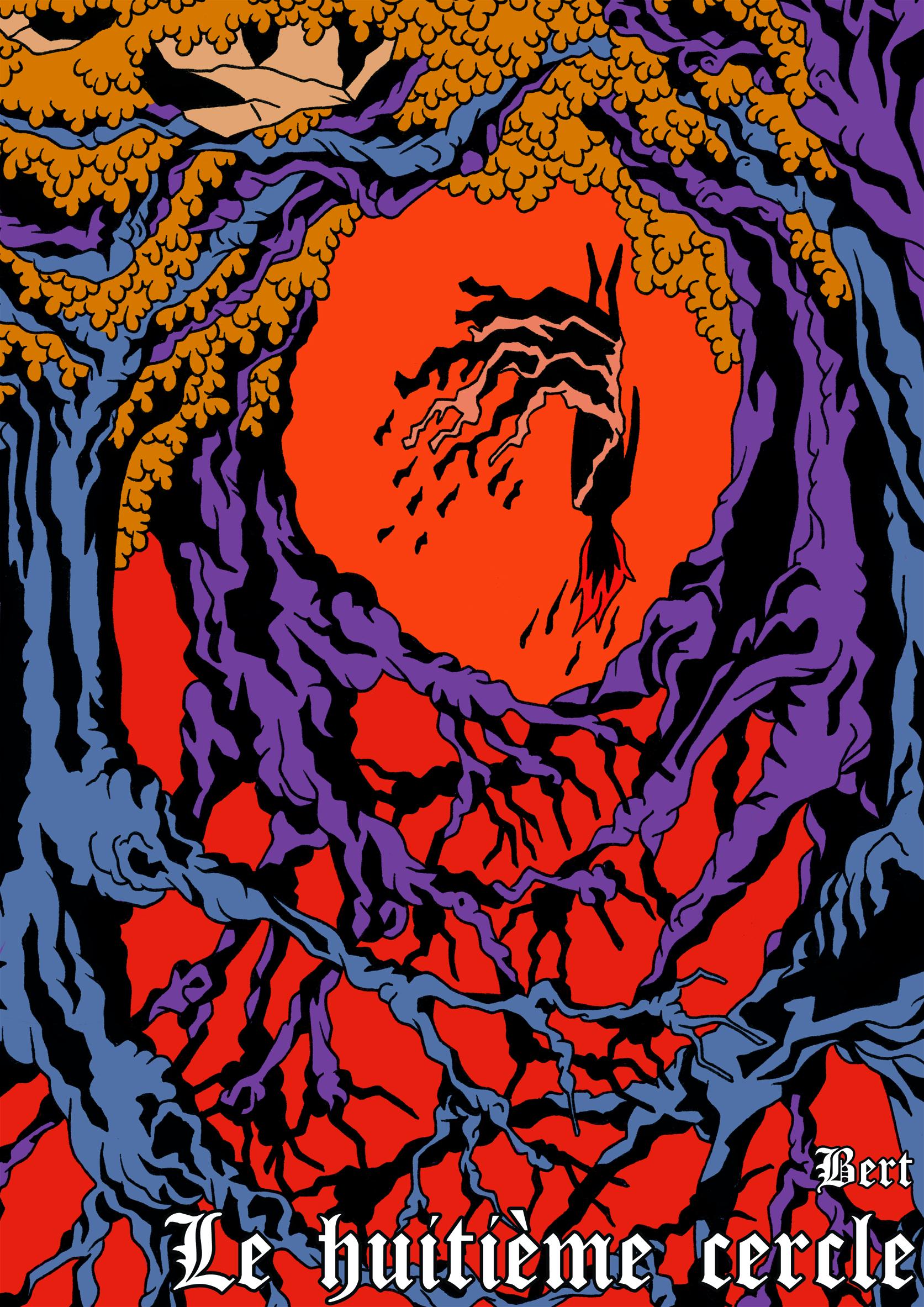 Couverture de la bande-dessinée Le Huitième Cercle par Bert