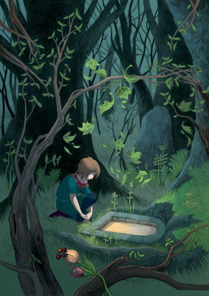Illustration issue de Jean de Fer par Cécile Chicault