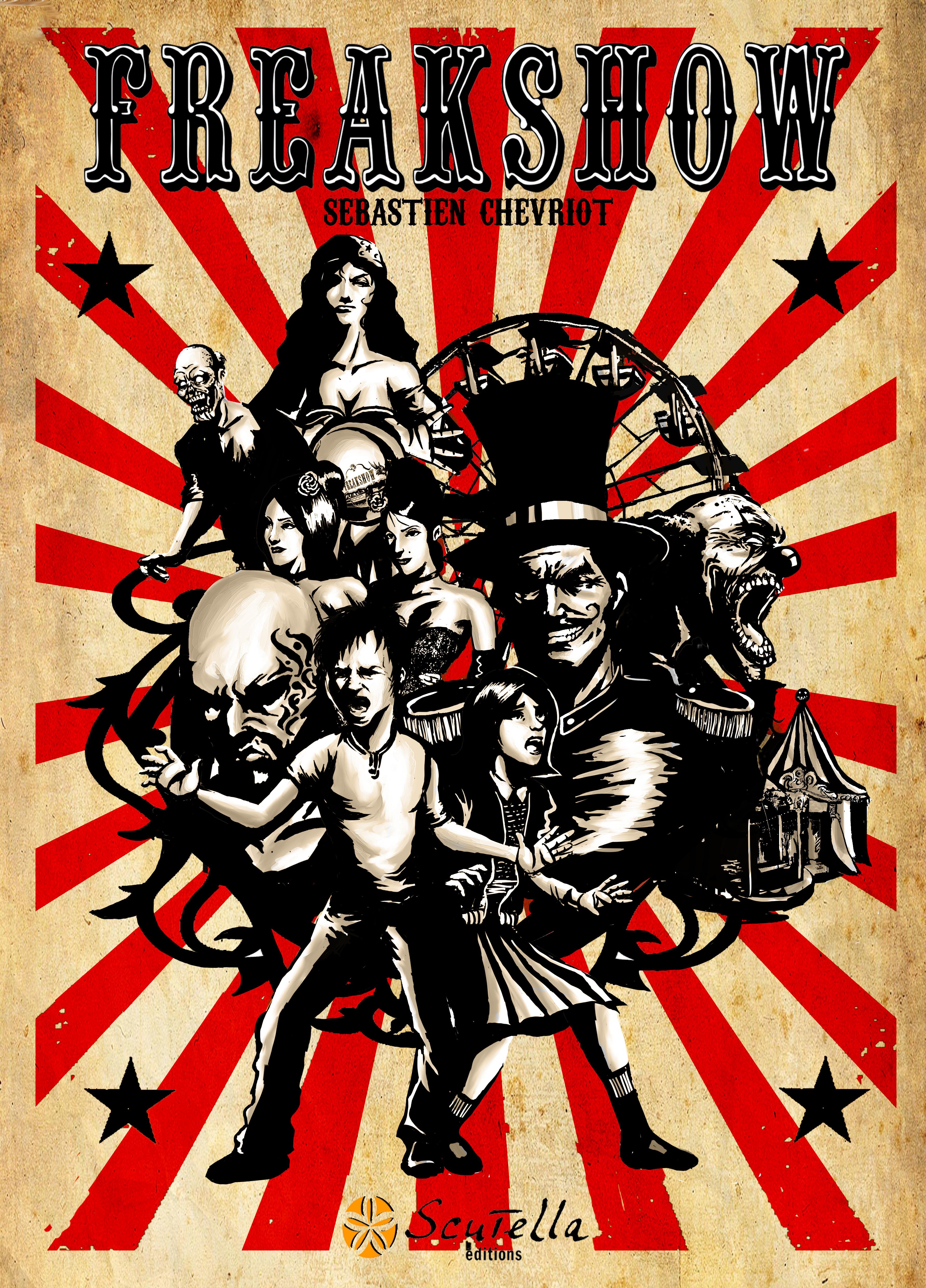 couverture de la bande-dessinnée Freakshow