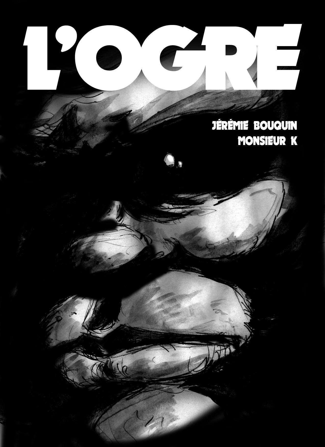 Couverture de la bande-dessinée l'ogre