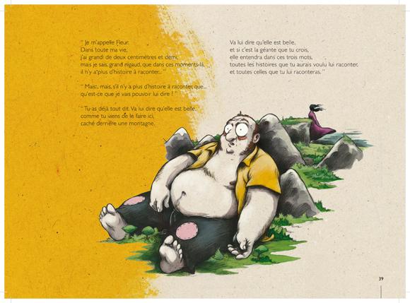Extrait de l'album Fleur de Géant par Nicolas Poupon