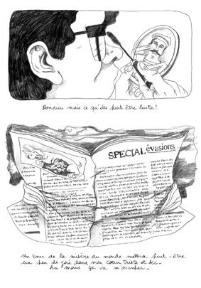 Extrait issue de la bande-dessinée Jour de Poisosn par Amandine Ciosi