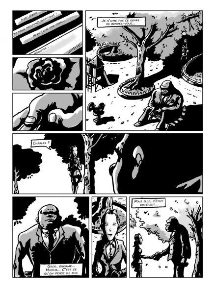 planche extraite de la bande-dessinée L'Ogre