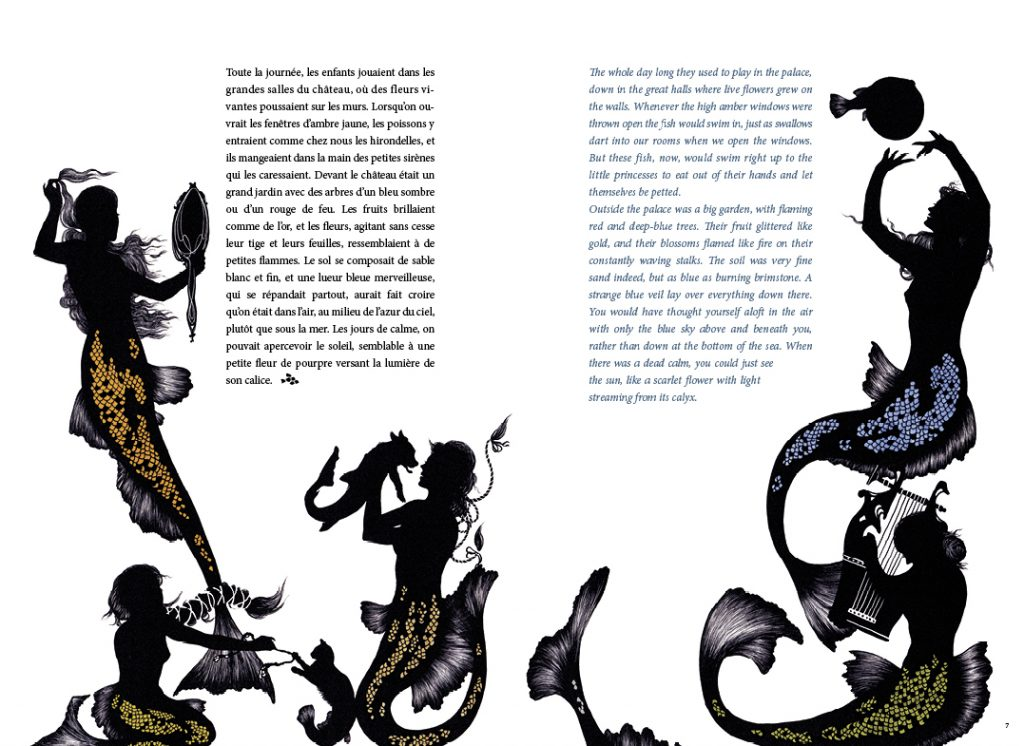Extrait du conte La Petite Sirène