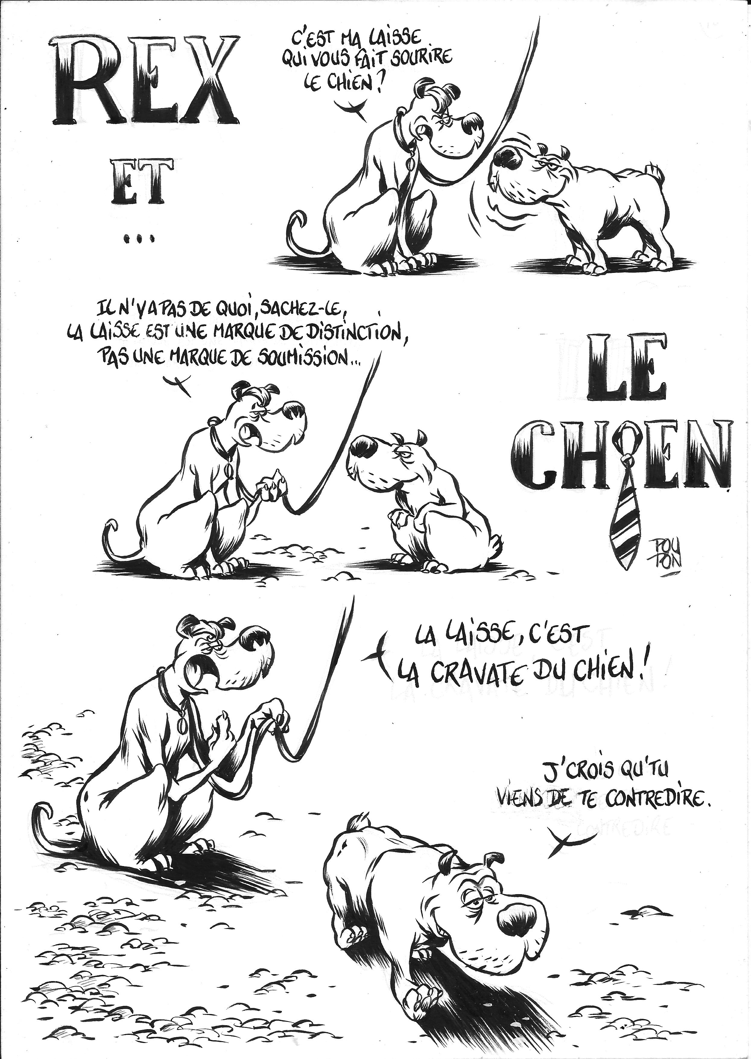 Extrait Rex et le chien par Nicolas Poupon